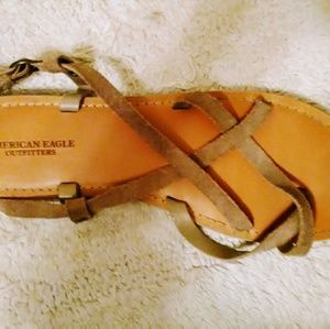 Ladies American Eagle sandals